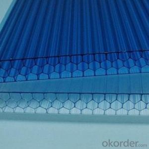 Twin Wall Polycarbonate Hollow Sheet Good Quality and Sales