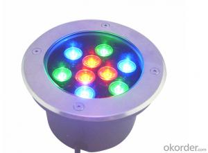 IP67 1w/3W/6W/7W/9W/12W/15W/18W/24W led underground light