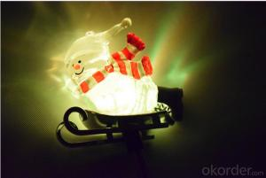 Solar Snow Man High Quality Led Solar Decorative Light for Garden