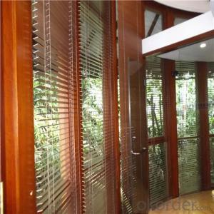 Breathable Waterproof Transparent Fabric with Blind Curtain