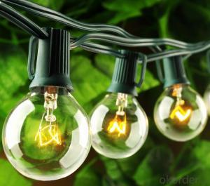 G40 Patio Lights Outdoor Globe Garden String Lights Good Design