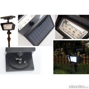 Ul Listed Solar Projector Solar Spot Light