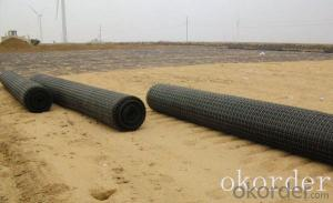PP Plastic Polypropylene Geogrid Biaxial Geogrid High strength Made in China