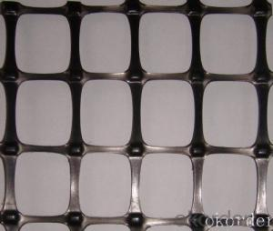 Steel Plastic Geogrids  in Road Construction
