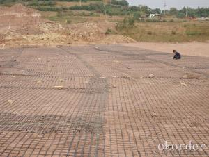 High Strength Fiberglass Geogrid in Civil Engineering Construction Made in China