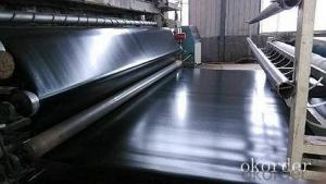 Waterproof Environmental Engineering  Geomembrane 2 Mm Hdpe Geomembrane Roll