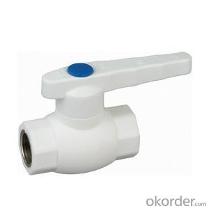 PPR type A1 hot melt copper core ball valve  of hot and cold