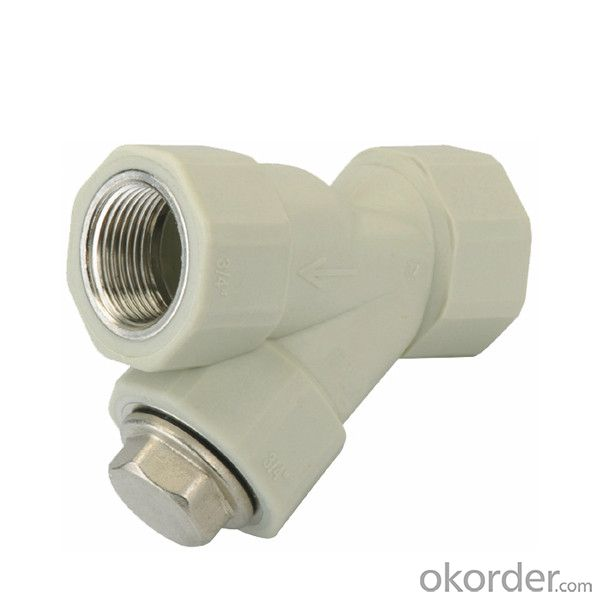 Buy ppr plastic double female threaded filter price size