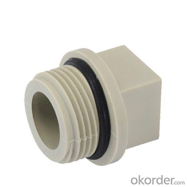 Buy polypropylene random plastic pipe plug price size