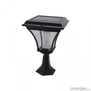 Solar Fence Light Solar Post Lantern for Garden