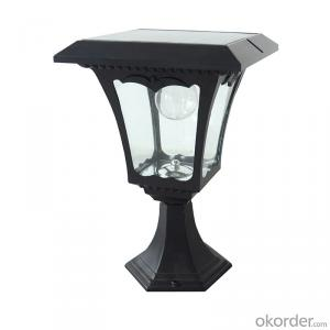 LED Solar Post Lantern Solar Column Light Solar Fence Light