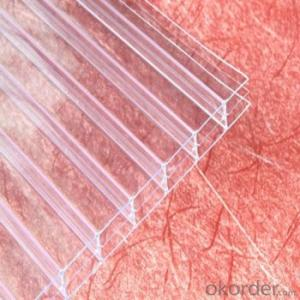 Polycarbonate Hollow Sheet Sunshade Board