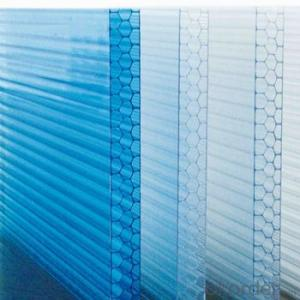Polycarbonate Solid Sheet/ Polycarbonate Solid Sheet Twin Wall PC Hollow Sheet