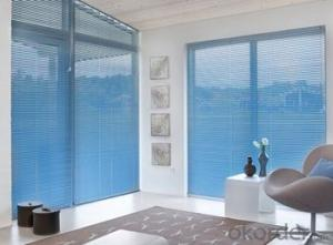 Sunscreen Blinds Bintronic  Motorized Shangri-la Window Blinds