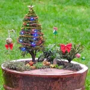 Christmas Home Decor Synthetic Grass for Landscape