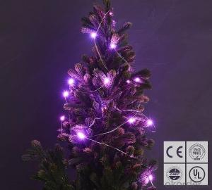 Pink Fairy Light Flexible Led Mini Copper Wire String Lights Led Christmas Lights