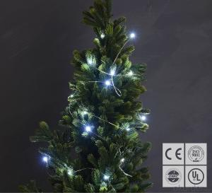 Cold White Fairy Light Flexible Led Mini Copper Wire String Lights Led Christmas Lights