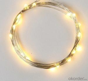 Warm White Fairy Light Flexible Led Mini Copper Wire String Lights Led Christmas Lights