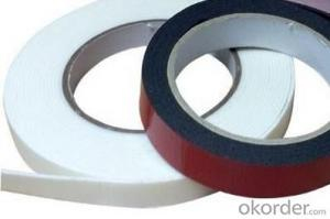 Acrylic Single Sided Foam Tape for Carton Sealing