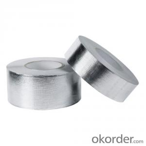 Aluminum Foil Tape  Pressure Sensitive Silver