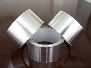 Aluminum Foil Tape No Printing Single Sided