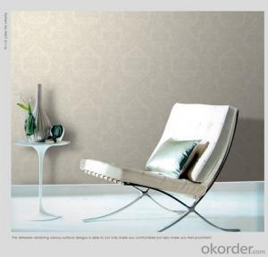 American Style Designs Wallpaper Heavy Embossed Made in China