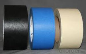 Colorful Masking Tape waterproof  Rubber Single Sided