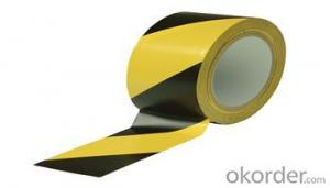 PVC  Rubber reflective barrier tape for warning