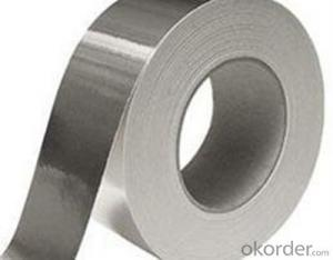 Aluminum Foil Tape Silver Acrylic Single Sided