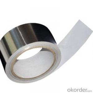 Aluminum Foil Tape Acrylic Adhesive Single Sided