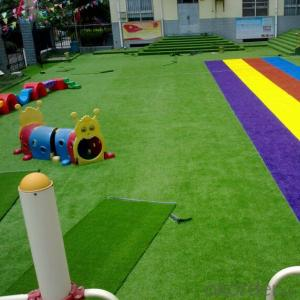 Artificial Grass  Beautiful Green Kindergarten Decoration Landscape