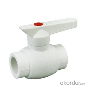 PPR type A1 hot  melt  copper core ball valve