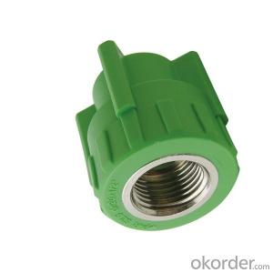 PP-R Plastic pipe Female threaded  coupling