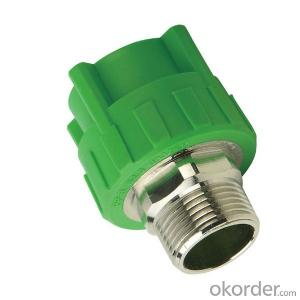 PP-R Plastic pipe Male threaded  coupling