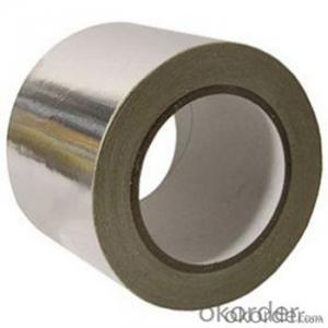Aluminum Foil Tape Solvent Based Acrylic