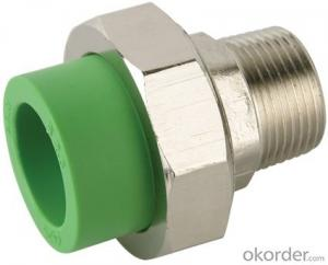 Polypropylene Random PPR Male threaded union
