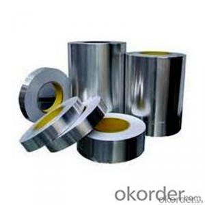 Aluminum Foil Butyl Tape Heat Resistant  Silver