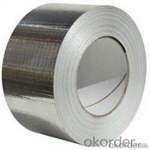 Aluminum Foil Tape Insulation And Silver