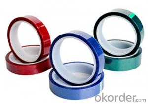High temperature resistant silicon tape