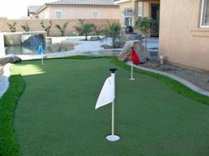 High Density Synthetic Golf Putting Green Grass
