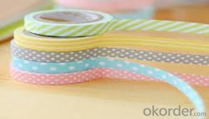 Decoration tape  crepe paper  Heat-Resistant