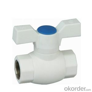 PPR  A1  hot melt copper core ball valve