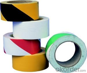 PVC Warning Tapes Road Safety and Single - Sided
