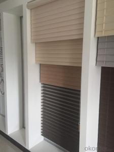 Vertical switch control aluminum roller  blinds with H5 sunscreen fabric