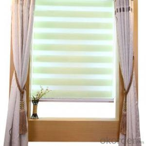 Office automatic curtains motorized octoganal window blind