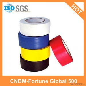 PVC Electrical Tape Pressure Sensitive Single Sided
