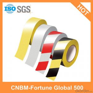 PVC Warning Adhesive Tapes Road Safety and Single - Sided