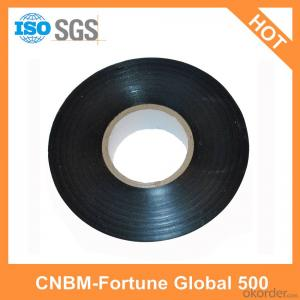PVC Black Tape for electrical insulating and pipe wrapping