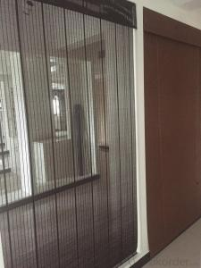 China roller blinds curtain fabric straw curtain