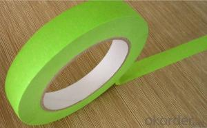 Colorful Skin Crepe Paper Masking Tape for Car Painting